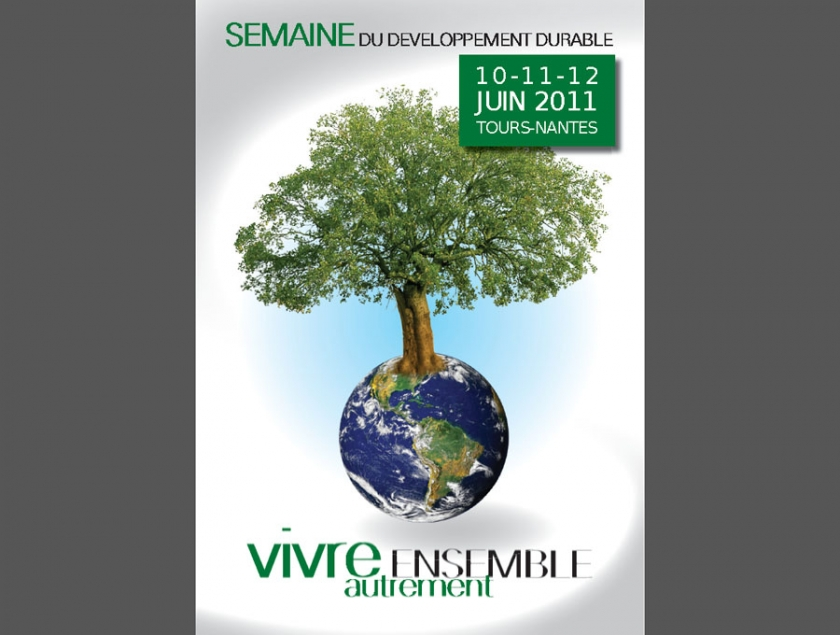 Affiche Developpement Durable